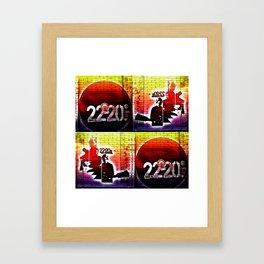22-20s Framed Art Print