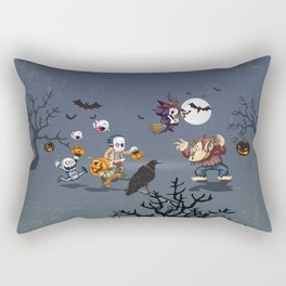 Halloween Night (let's party tonight) Rectangular Pillow