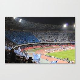 Fans choreography Canvas Print