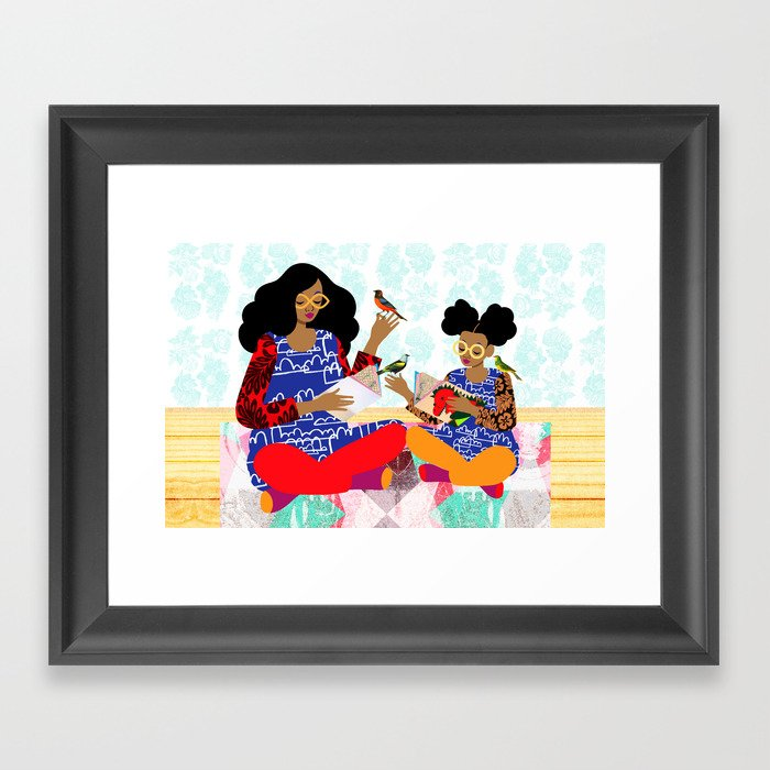 Copycat Framed Art Print