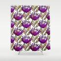 Modern Floral Protea Purple #homedecor by susycosta
