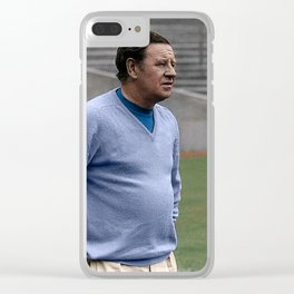 Willie Waddell in colour Clear iPhone Case