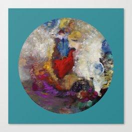 """Odilon Redon """"La roue de la fortune"""" Canvas Print"""