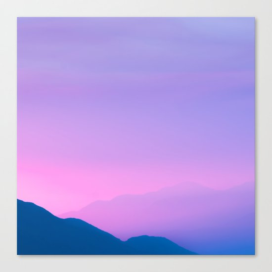 Sunset Layers Canvas Print