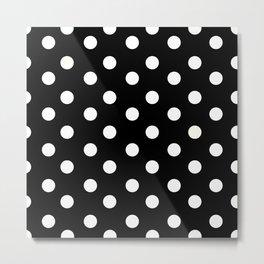 Polka Dot Pattern Metal Print