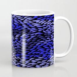 Authentic Aboriginal Art - Grass (Blue) Coffee Mug