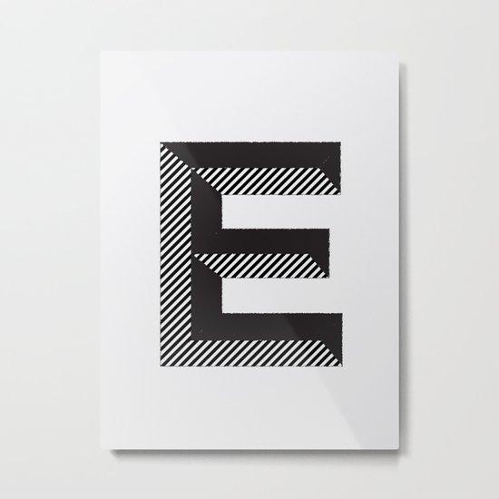 E for.... Metal Print