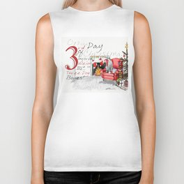 THIRD DAY OF CHRISTMAS WEIMS Biker Tank