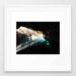 Grjótagjá Framed Art Print
