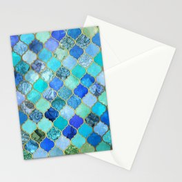 Moroccan trellis Stationery Cards