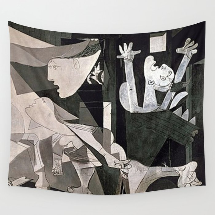GUERNICA #2 - PABLO PICASSO Wall Tapestry by iconicpaintings | Society6