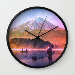"""Holy Ground"" Wall Clock"