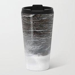 Snowy Road Travel Mug