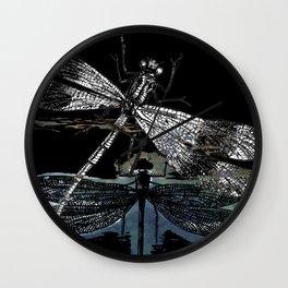 DRAGONFLY meets a FRIEND II Wall Clock