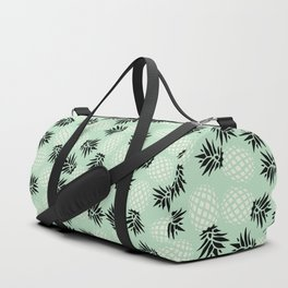 Mint Pineapple Pattern 023 Duffle Bag