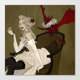 Little Demon Canvas Print