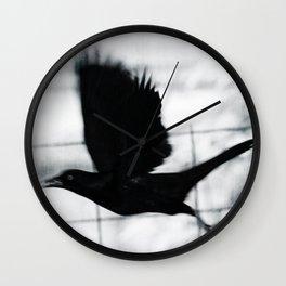Blackbird 3 Wall Clock