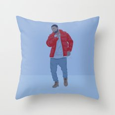 Drake Hotine Bling Dance Throw Pillow