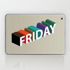 Happy Friday Laptop & iPad Skin