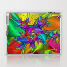 Explosion in a paint factory! Laptop & iPad Skin