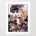 Illustrator's Morning by kirstenrothbart