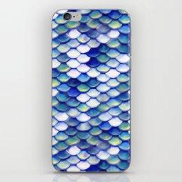 Mermaid Tale Pattern iPhone Skin