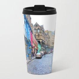 Victoria Street Edinburgh 3 Travel Mug