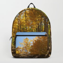 Autumn Blaze outside of Crested Butte, Colorado for #Society6 Backpack