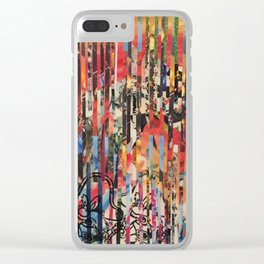 STRIPES 27 Clear iPhone Case