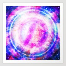 Galaxy Redux Art Print