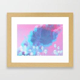 SUMMER WAVES II Framed Art Print