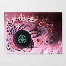 Camtric deep sea III, purple Canvas Print
