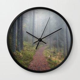 Norwegian Wood Wall Clock