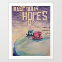 Keep Your Hopes Up - Toby Turner Art Print