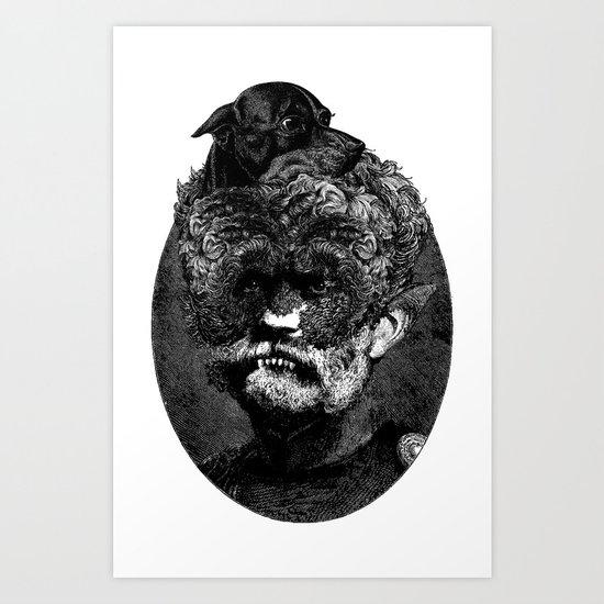 Dogman Art Print