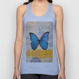 Butterflies in Time Unisex Tank Top