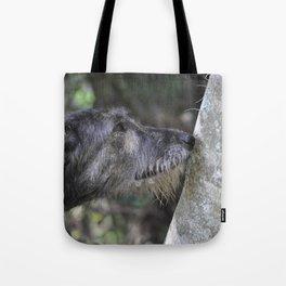 Irish Wolfound Tote Bag