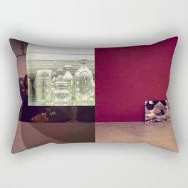 intervención de museo Rectangular Pillow