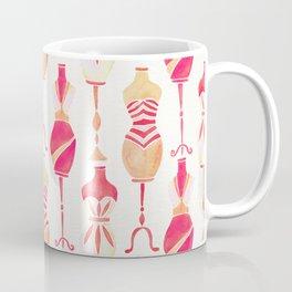 Vintage Dress Forms – Pink Ombré Palette Coffee Mug