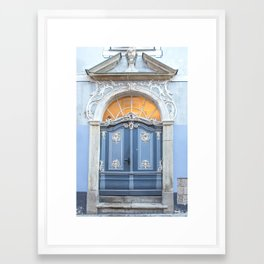 Riga Door Detail  Framed Art Print