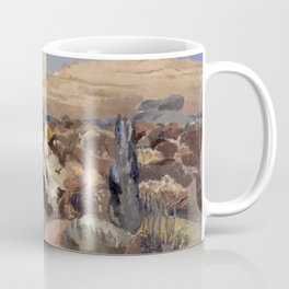 Landscape with Moon Coffee Mug