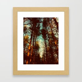 half alive Framed Art Print