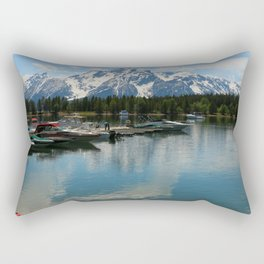 Beautiful Summerday At Colter Bay Rectangular Pillow