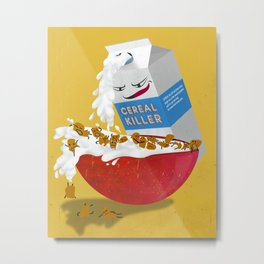 Cereal Killer Metal Print