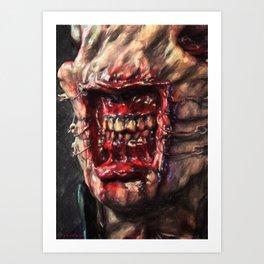 Chatterer Art Print