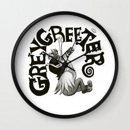 Greygreeter Wall Clock