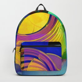 Round Pegs in Square Holes Backpack