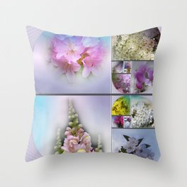 the heart of spring for Fibonacci Throw Pillow