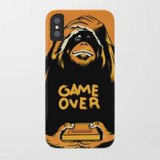 Orange Quick Foot Slim Case iPhone X
