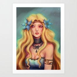 Freyja Art Print